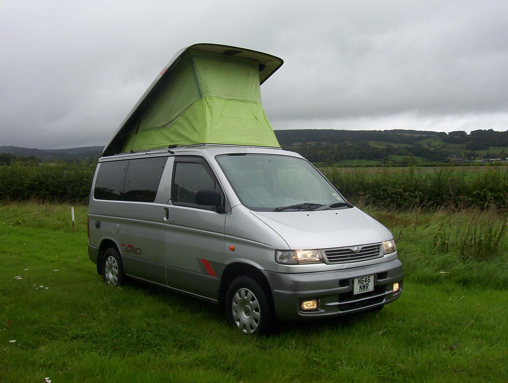 mazda bongo camper van sales conversions spares and. Black Bedroom Furniture Sets. Home Design Ideas